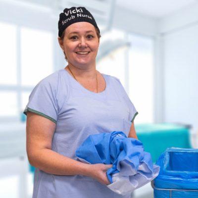 WrapBack recycling program nurse Vicki